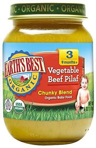 Earths Best Organic Vegetable Ingredients product image