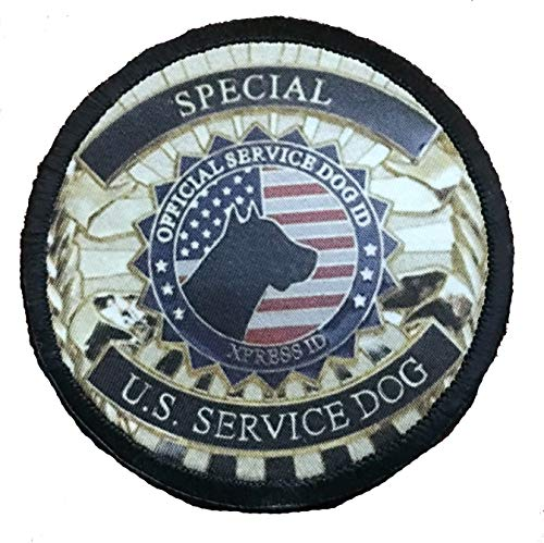 - Special U.S.Service Dog Badge 3