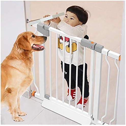 Barreras de puerta Valla Para Mascotas Barreras De Puerta Valla Seguridad Infantil Escalera Barrera Seguridad Perros Pantalla De La Chimenea Barandilla De Seguridad Aislamiento Puerta De Seguridad Rej: Amazon.es: Hogar