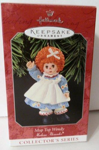 Madame Alexander Mop Top Wendy 1998 Hallmark Keepsake Ornament (Raggedy Ann Costume Face)