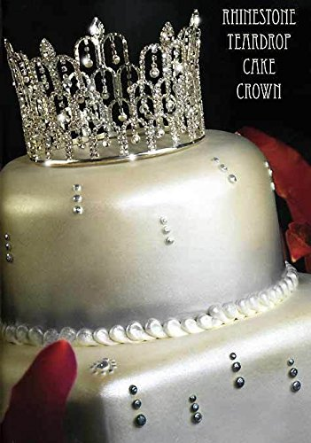 Rhinestone Crown Tiara Wedding Pageant Prom Queen King Cake Topper Decoration C7 Amazoncouk Kitchen Home