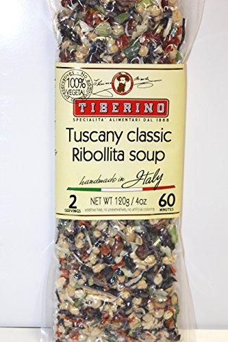 - Tiberino's Real Italian Meals - Tuscany Classic Ribolita Soup 120g/ 4oz