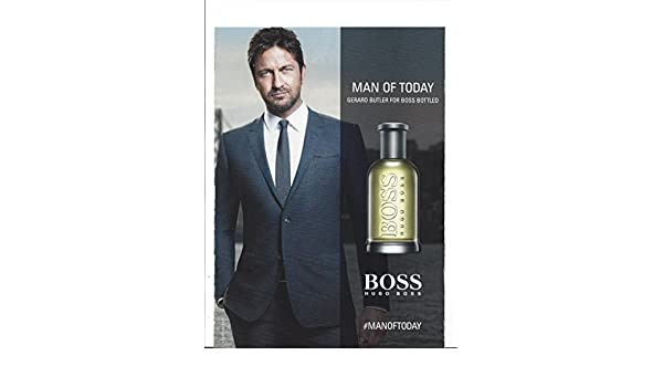 94046b39 Amazon.com: Scented**PRINT AD** With Gerard Butler For Hugo Boss Fragrance :**PRINT AD**: Entertainment Collectibles