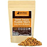 Raw Paws Pet Grain-Free Sweet Potato Training Treats for Dogs, 6-oz – Made in the USA – Vegetarian & Vegan Dog Treats – Natural Sweet Potato Dog Treats – Low Calorie, Gluten Free Puppy Training Treats Review