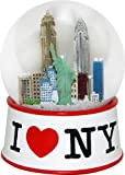 City Souvenirs Official I Love New York Snow Globe (2.5 Inches Tall) (45mm Globe)