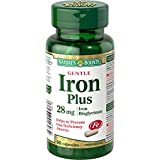 Nature's Bounty Gentle Iron 28mg 90 count