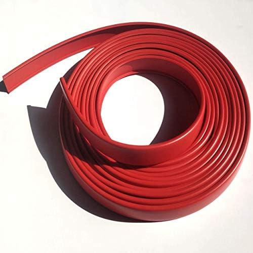 5R16 Cubrecanto de plástico flexible en U (umolding)(16 mm., ROJO ...