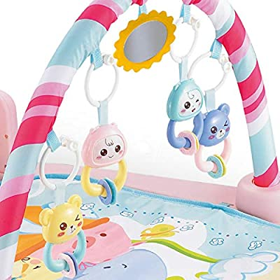 Infant Toddler Baby Play Activity Gym Playmat Floor Mat Kids Musical Carpet Mat