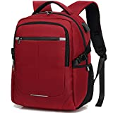 Business Travel Backpack,Laptop Backpack with USB Charging Port/Headphone Hole for Men Women Boys Girls, Water Resistant College School BookBag Computer Bag backpack fit 15.6 in Laptop &Notebook