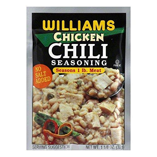 Williams Chicken Chili Seasoning1125 oz
