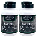 Slender FX Sweet Eze Blood Sugar Regulator - 4 Bottles 120 Capsules Per Bottle (Ships Worldwide)