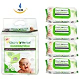 Clearly Herbal Gentle Baby Wipes (72 ct bag of 4 = 288...
