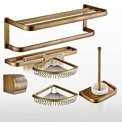 KIEYY Rack de almacenamiento de acero inoxidable toallas baño baño cesta titular armario rack armario rack de toallas toalla plegable: Amazon.es: Bricolaje ...