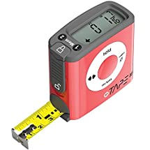 eTape16 ET16.75-db-RP Digital Tape Measure, 16', Red (INCHES ONLY VERSION) (Discontinued by Manufacturer)