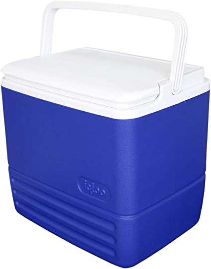 6 Can Capacity 5 Qt Cooler Reversible Lid Tray Cup Outdoor Camping Hiking