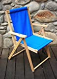 Highlands Deck Beach Chair Finish: Atlantic Blue