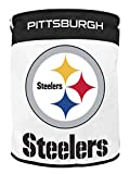 Best nfl Laundry Hampers - Duckhouse NFL Canvas Laundry Bags Pittsburgh Steelers Red Review