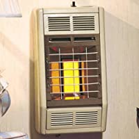 Empire Infrared Heater Natural Gas 10000 BTU, Manual Control