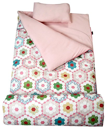 Crystal Carrying Case - SoHo kids Crystal children sleeping slumber bag with pillow and carrying case lightweight foldable for sleep over