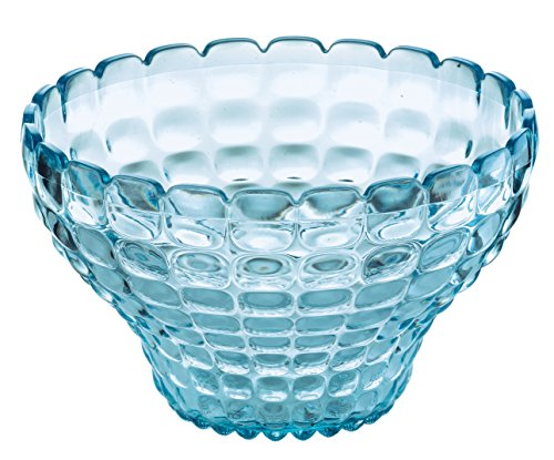 Collection Sorbet (Guzzini Tiffany Collection Small Serving Bowl/Cup, 10-Fluid Ounces, Sea Blue)