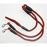 ZBling Dual Dog Leash No-Tangle Double Dog Leash Coupler for 2 Dogs, for Big Dogs