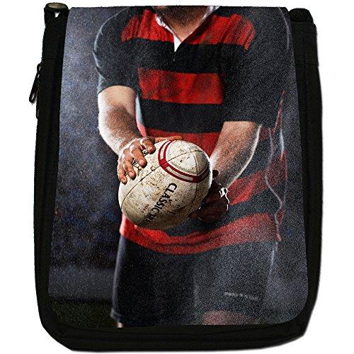 World Shoulder Play Rain Size Canvas Kit Rugby Team Shine Wind Cup Black Medium Or Bag Ball a8qw8CtU