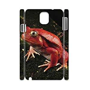 3D Dustin Tomato Frog Samsung Galaxy Note 3 Cases Protective for Girls, Case for Samsung Galaxy Note 3 N9005 [White]