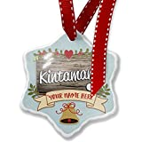 Add Your Own Custom Name, Kintamani, Dog Breed Indonesia Christmas Ornament NEONBLOND