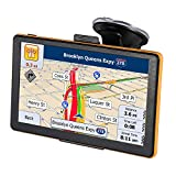 GPS Navigator System 7 Inch 8GB Touch Screen GPS Navigation for Car Preload 2018 North America Map with Lifetime Free America & EU Maps