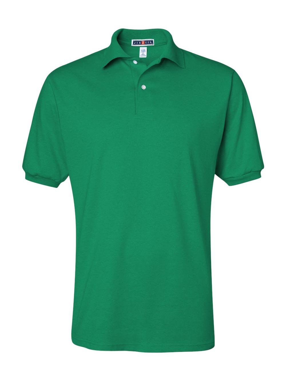 Jerzees Men's Spot Shield Short Sleeve Polo Sport Shirt, Kelly, 2X-Large