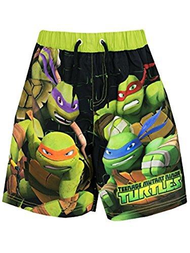 [Teenage Mutant Ninja Turtles Boys' Ninja Turtles Swim Shorts 7] (Ninja Turtle Suits)