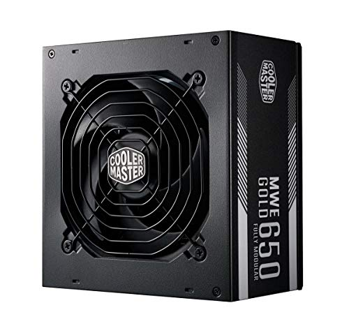 Cooler Master MWE Gold 650 W 80+ Gold Certified Fully Modular ATX Power Supply