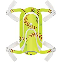 Skin For ZEROTECH Dobby Pocket Drone – Softball Collection | MightySkins Protective, Durable, and Unique Vinyl Decal wrap cover | Easy To Apply, Remove, and Change Styles | Made in the USA