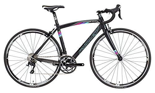 Ridley Women's Liz Alloy 105 LI170BM Bike with Safety Reflectors, Black, 49 cm/X-Small