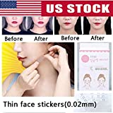 40 Pcs/Set Invisible Thin Face Stickers Face Facial Line Wrinkle Sagging Skin V-Shape Face Lift Up Fast Chin Adhesive Tape Rubb by Rubyshop