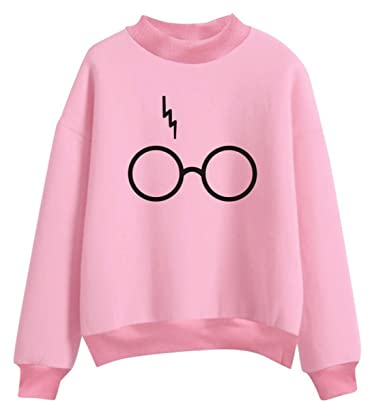 135233a34f2 SIMYJOY Mujere Harry Potter Fans Sudaderas Niñas Cool Casual Linda Jersey  Loose Fitting Top: Amazon.es: Ropa y accesorios