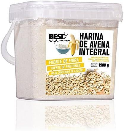 Best Protein Harina de Avena Yogur Banana - 1900 gr: Amazon.es ...