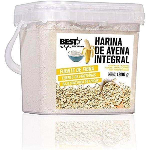 Best Protein Harina de Avena Yogur Banana - 1900 gr ...