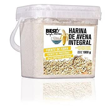Best Protein Harina de Avena Yogur Banana - 1900 gr: Amazon ...