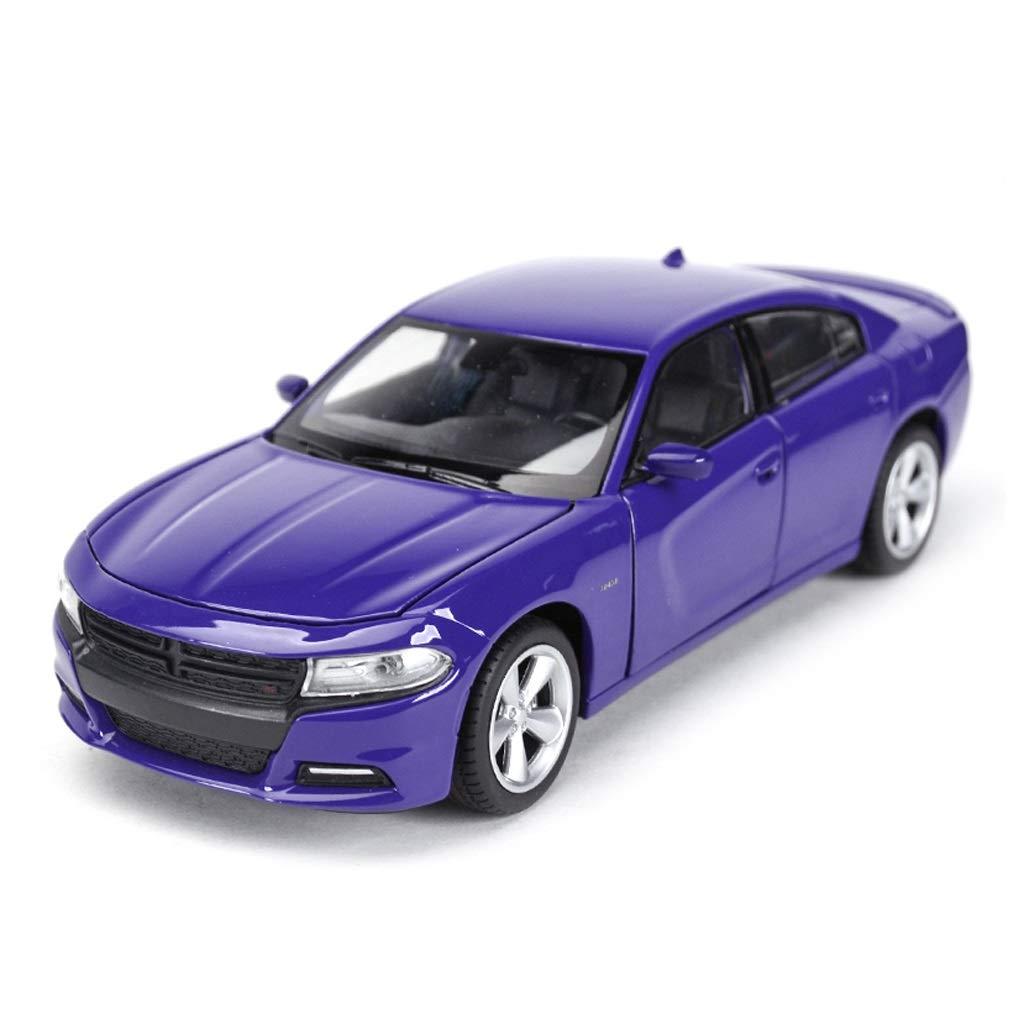 HJCM-Auto modello Modello di pressofusione Modello di Auto in Lega Modello di Raccolta Decorazione Decorazione di Auto Modello Dodge Charger 2016 Decorazione