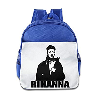 ELF STORY - Rihanna Anti Little Kid Baby Boys Girls Toddler School Backpack RoyalBlue