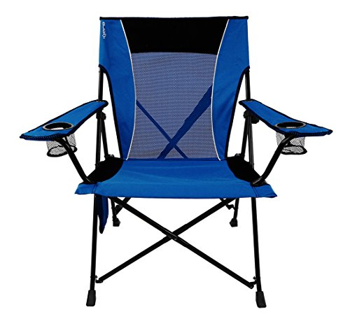 Kijaro  Dual Lock Portable Camping and Sports Chair - Folding Outdoor Chair