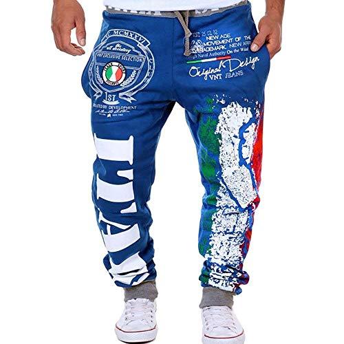 Blau Deportivos Ocio Battercake Hombre Para Pantalones Otoño Cómodo Primavera Hombres wnIzOqYIP