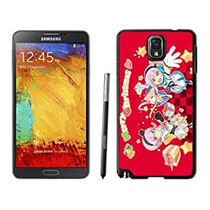 Note 3 Case,Merry Christmas Cartoon Girls TPU Black Samsung Galaxy Note 3 Cover Case,Note 3 Cover Case