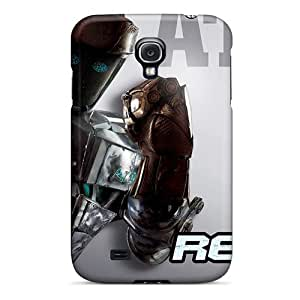 Awesome EmDWxtx7506nJEzR Jamesmeggest Defender Tpu Hard Case Cover For Galaxy S4- Real Steel Atom