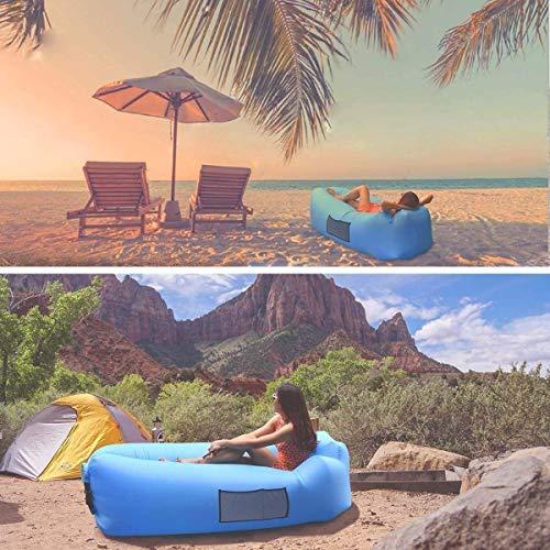 AngLink Luftsofa Wasserdichtes Aufblasbares Sofa Air Lounger Erfahrungen & Preisvergleich