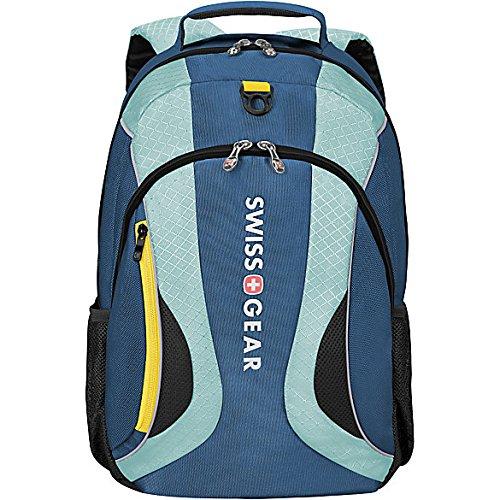 """SwissGearMercury Backpack With 16"""" Laptop Pocket (Dark Blue)"""