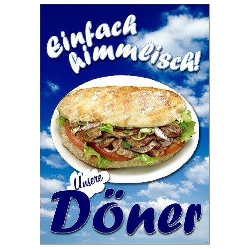 Net-Xpress® Placa para Döner Kebab Publicidad Din A1, Cartel ...