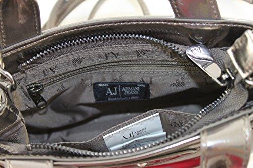 Armani Jeans Tasche Umhängetasche Clutch Bag 922547 blei