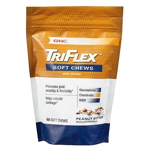 GNC TriFlex chews Peanut Butter 60